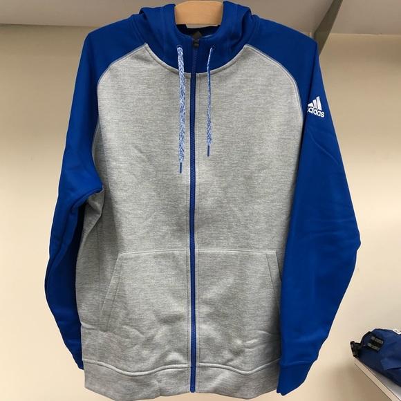 35b77239ffd9 NWT Adidas Men s Full Zip Sweatshirts